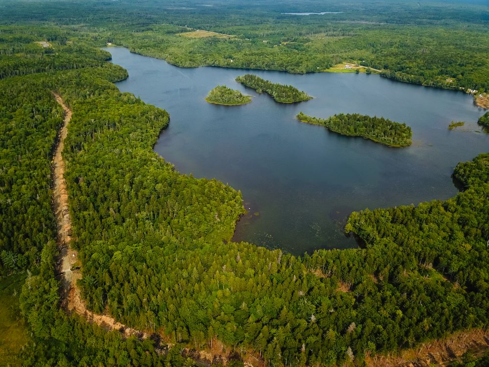 Waterfront lots on Tedford Lake in Nova Scotia Canada