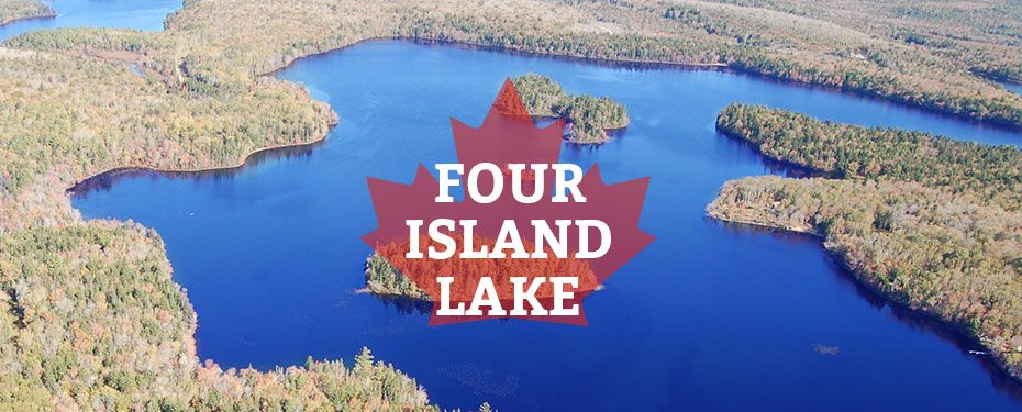 immobilien kanada four island lake