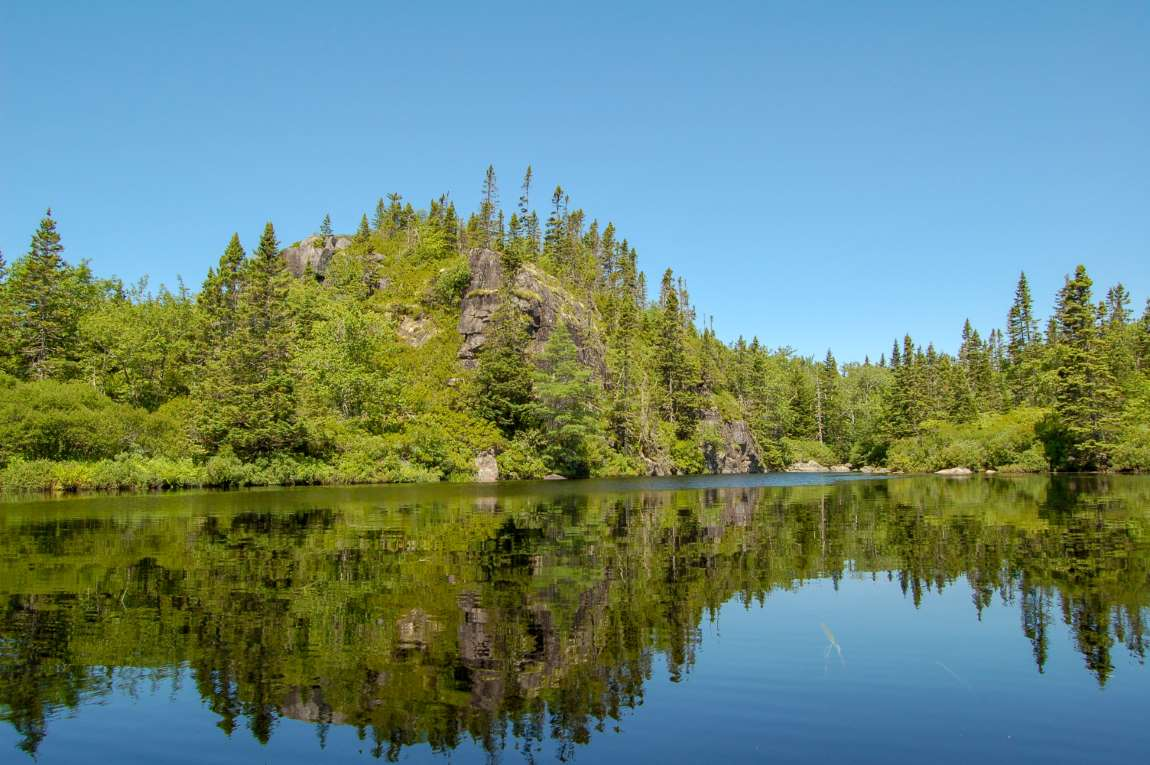 Hoop Pole Lake - Unique large area only 30 minutes drive from Halifax