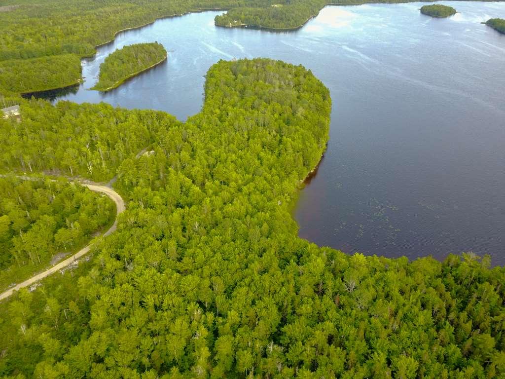 Neuerschließung Grundstücke am Lake Pleasant nahe Halifax Nova Scotia Kanada